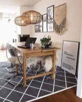 Outstanding Mini Office Design Ideas In The Living Room 38