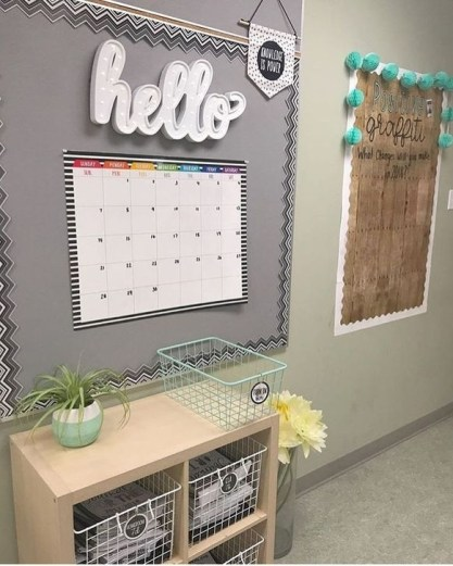 Refreshing Diy Classroom Ornaments Ideas To Draw Students Attention 27