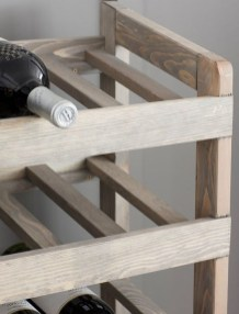 Relaxing Wooden Rack Ideas To Be Applied Into Any Home Styles 06