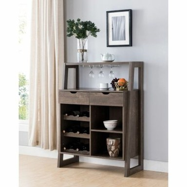 Relaxing Wooden Rack Ideas To Be Applied Into Any Home Styles 32