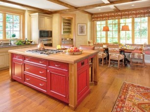 Splendid Kitchen Designs Ideas With Tones Of Vibrant Colors 10