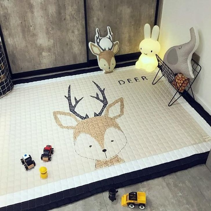 Superb Playful Carpet Designs Ideas To Surprise Your Kids 18