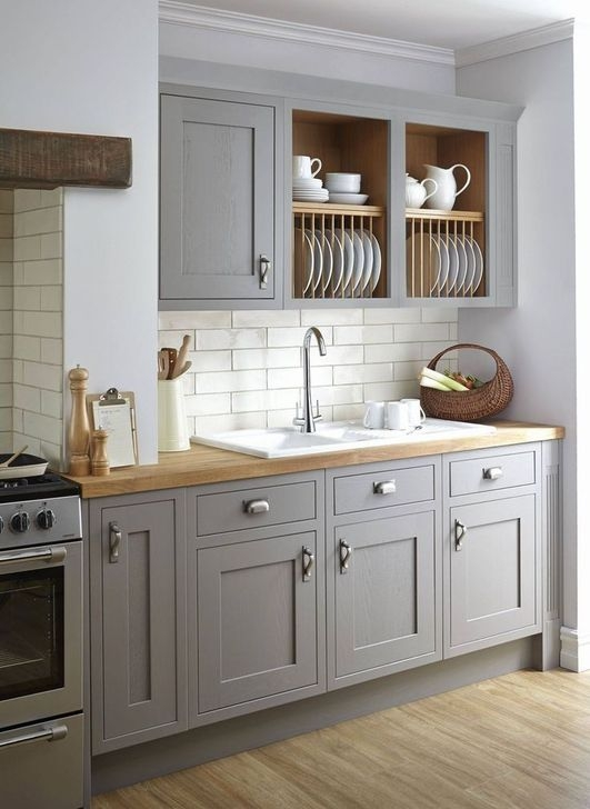 Classy Farmhouse Kitchen Cabinets Design Ideas To Copy 44