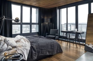 Rustic Penthouse Apartment Design Ideas For You 25