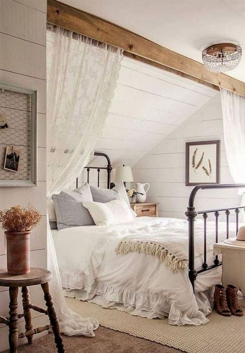 Trendy Farmhouse Master Bedroom Design Ideas 22