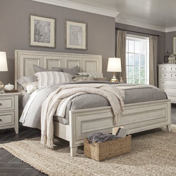 Trendy Farmhouse Master Bedroom Design Ideas 41