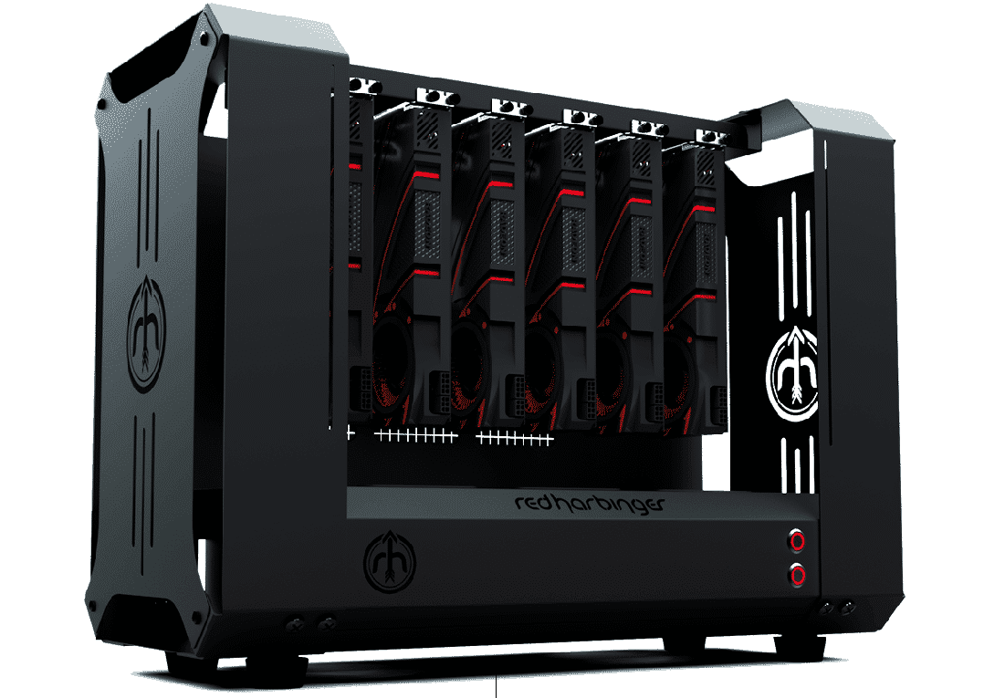 Red Harbinger presents Dopamine first computer chassis designed for crypto miners