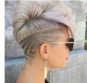 shaved hairstyles women top