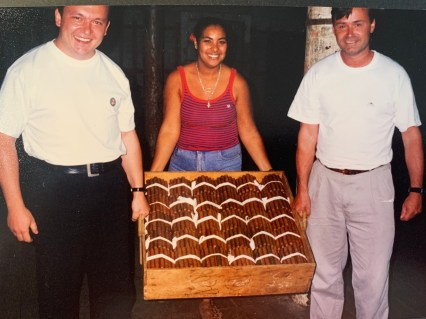 From Bespoke's aging room, 1999 ©Casdagli Cigars