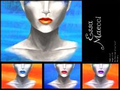 Essa Maecci for Elusivi-A Makeup, by L.A