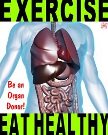 organ donor poster