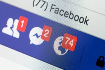 Contas do Facebook hackeadas