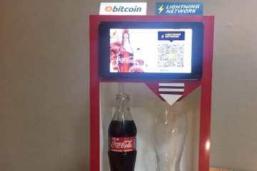 Coca-Cola que aceita Bitcoin