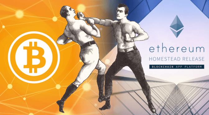 Quais são as diferenças entre Bitcoin e Ethereum