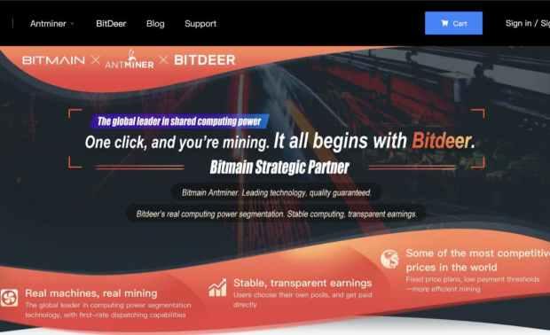 Bitmain e BitDeer unem forças em novas iniciativas de marketing.