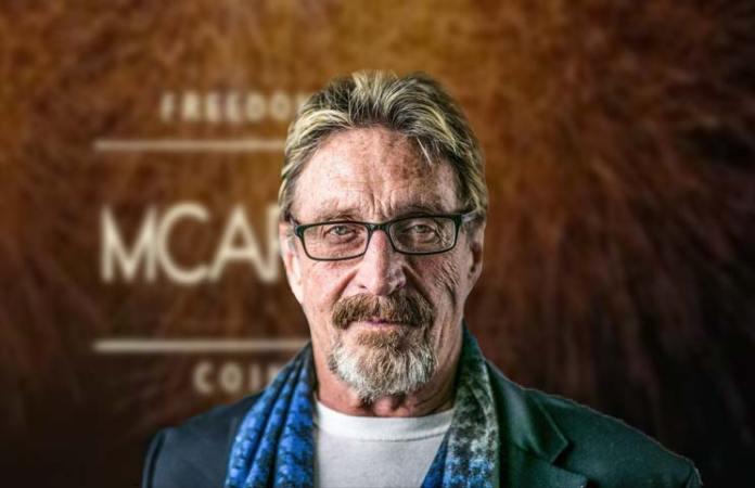 A nova criptomoeda de John McAfee não estará disponível em nenhuma exchange