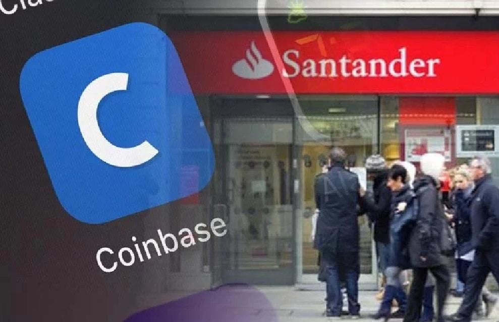 Banco Santander bloqueia Pagamentos de usuários à Coinbase: Rumores apenas?