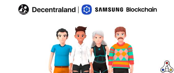 A Samsung Blockchain Wallet adicionou suporte ao Decentraland