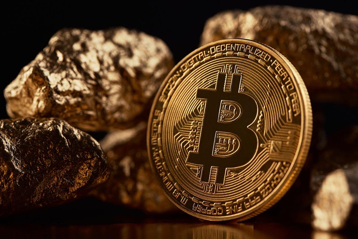 Relação Bitcoin x ouro