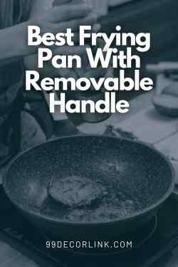 best frying pan with removable handle Pinterest