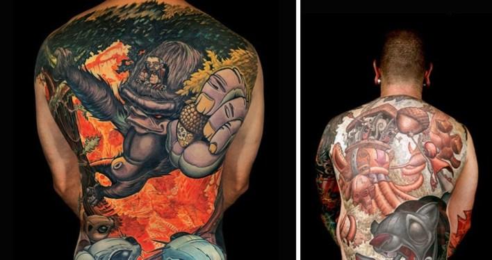 Стили татуировок - Новая школа