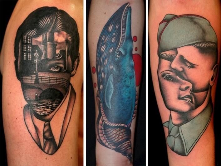 Стили татуировок - сюрреализм