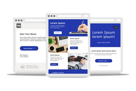 We designed and optimized each email template to be responsive and fully customizable. 45 Free Email Templates From Professional Designers