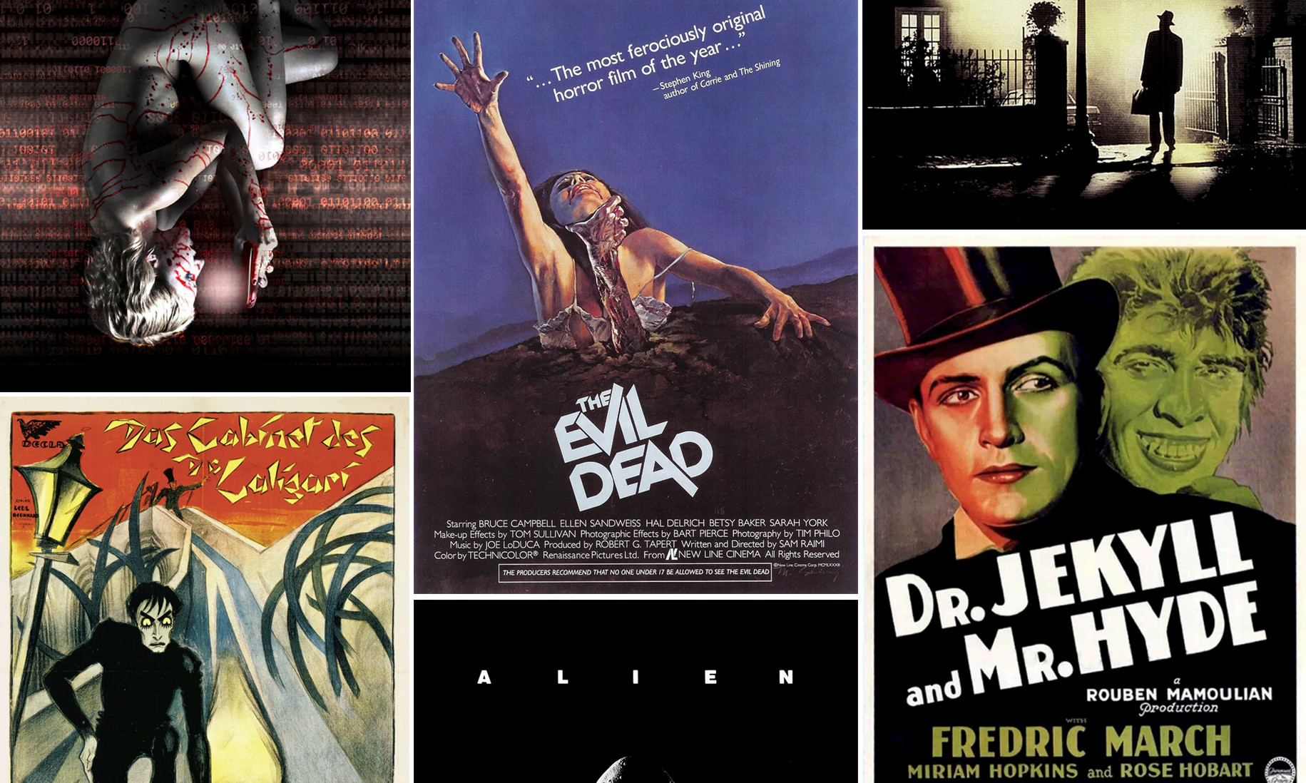 horror movie posters so good it s scary