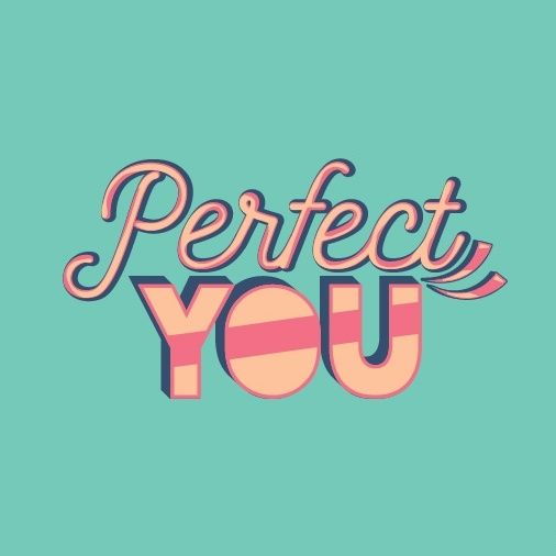 Display font logo for Perfect You