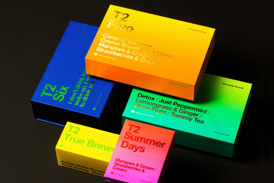 T2 gradient packaging