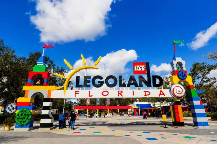Legoland visual marketing in Florida