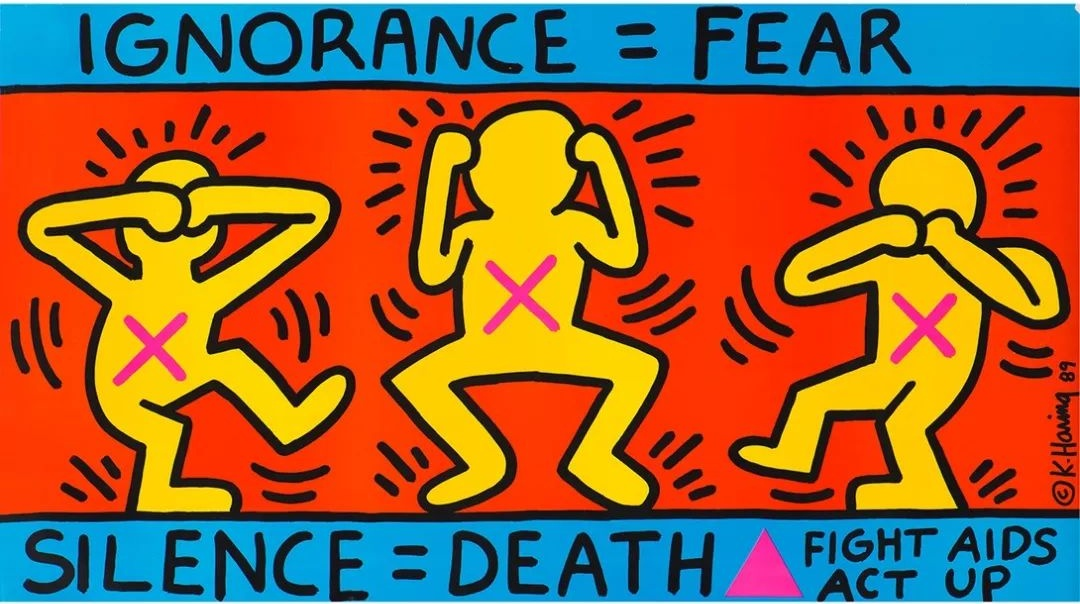 Kieth Haring's Ignorance = Fear