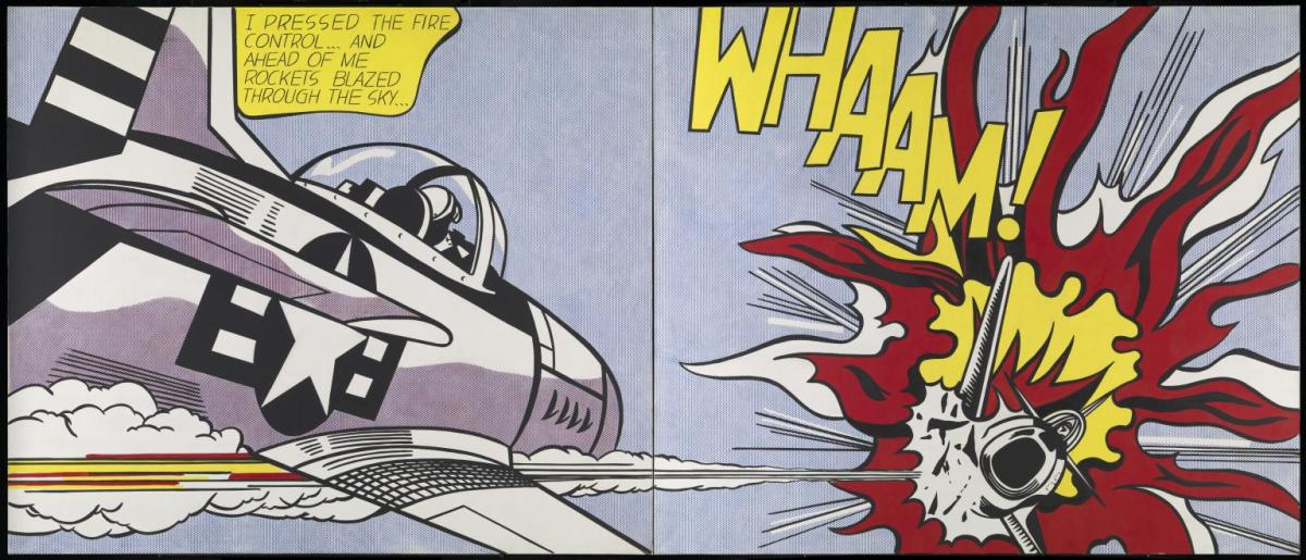 Roy Lichtenstein's Whaam!