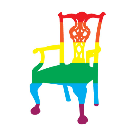 A rainbow version of the McSweeney's logo