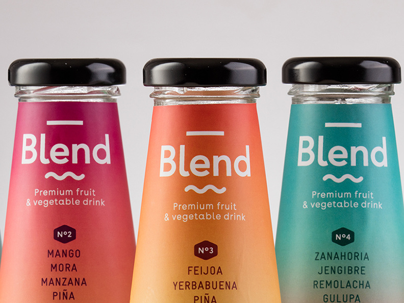 Blend - Premium fruit & vegetable drink