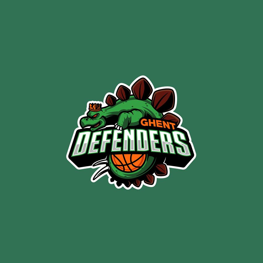 Basketball Sports Team Logo