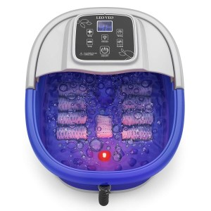 Foot Spa Massager Baths with Heat Bubbles