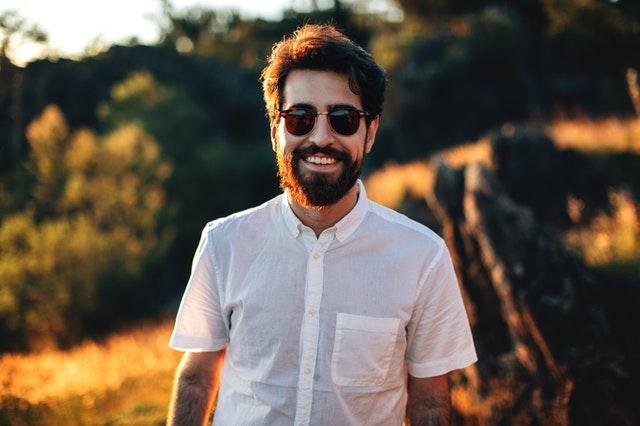 Beard balm or oil for short beard