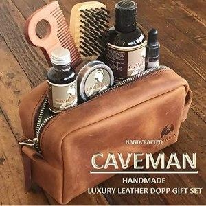 Caveman Luxury Leather DOPP