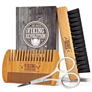 Viking Revolution Beard Comb & Beard Brush