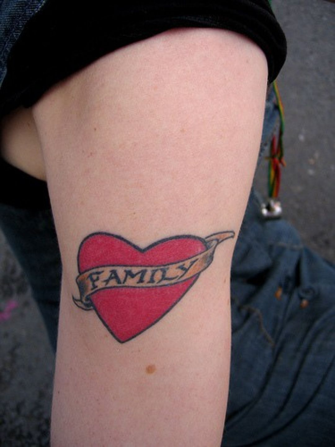 Family Heart Tattoos : family, heart, tattoos, ✓[100+], Family, Heart, Tattoo, Design, (1080x1440), (2021)