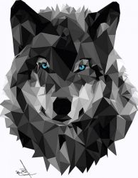 ✅ [15+] Wolf Geometric Android iPhone Desktop HD Backgrounds / Wallpapers 1080p 4k 2020