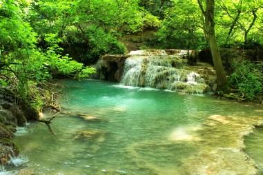 Krushuna waterfalls.