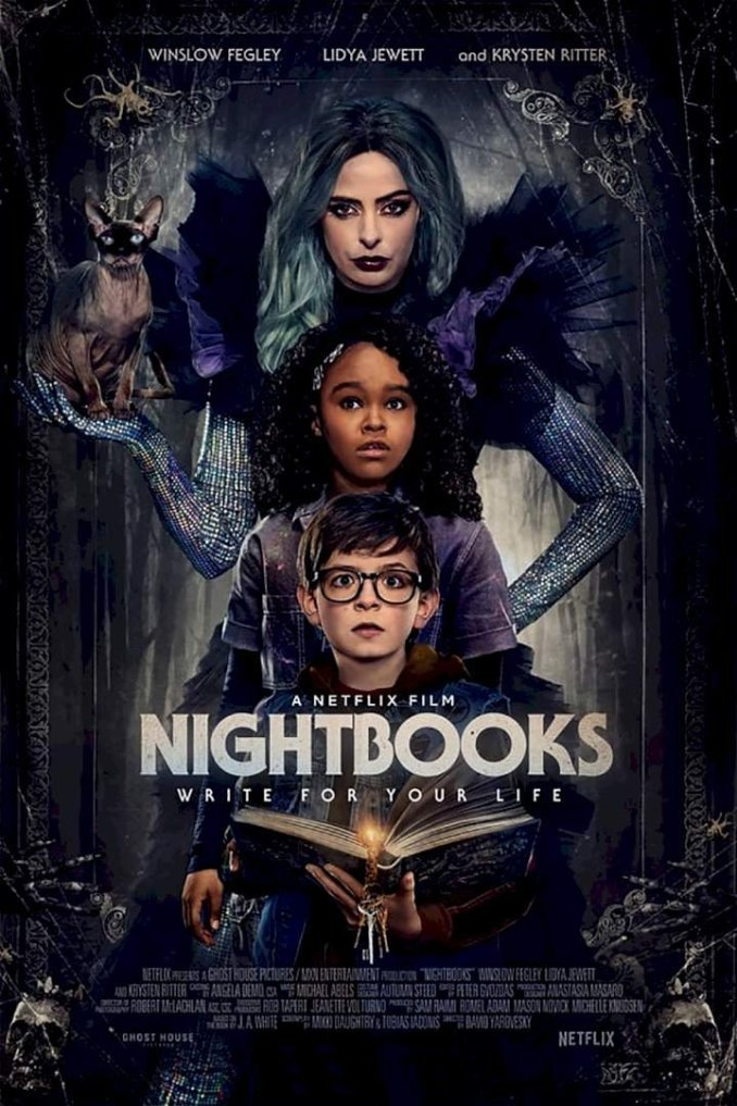 Nightbooks (2021) – Hollywood Movie   Mp4 Download