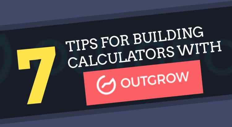 outgrow interactive calculators