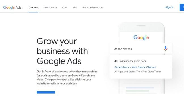 google ads marketing