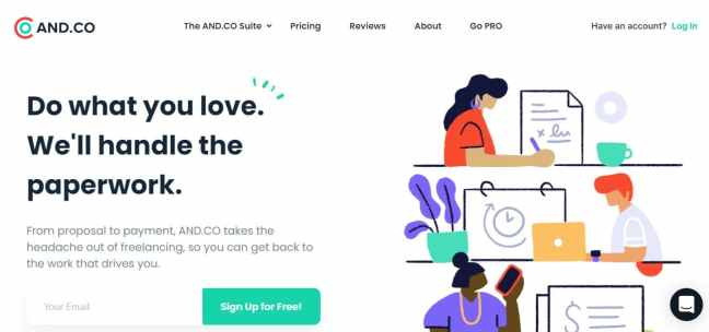 invoicing software andco