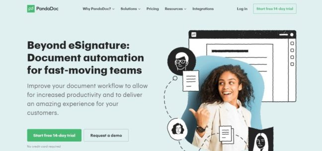 pandadoc digital signature software