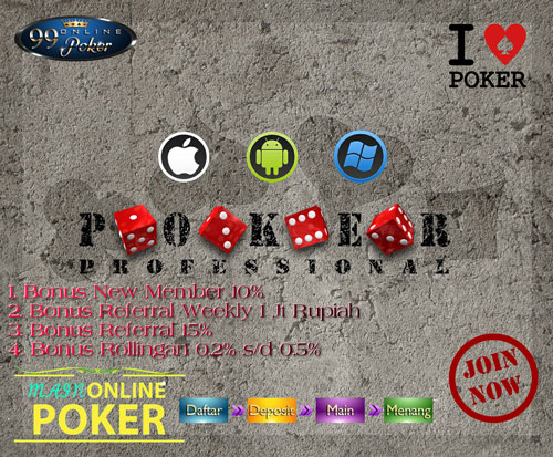 Agen Judi Poker Online Indonesia