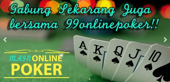 Agen Poker Online Bonus Depo Withdraw